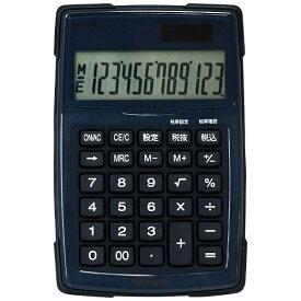 ナカバヤシ Nakabayashi 電卓 「デスクトップ防水タイプS」 ECD-WR-01BL (ブルー)[ECDWR01BL]