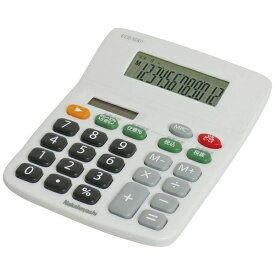 ナカバヤシ Nakabayashi 電卓 「スタンダードS」 ECD-SD01-GY (グレー)[ECDSD01GY]