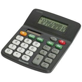 ナカバヤシ Nakabayashi 電卓 「スタンダードS」 ECD-SD01-BK (ブラック)[ECDSD01BK]