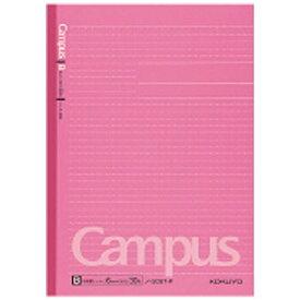 コクヨ KOKUYO [ノート] キャンパスノート ドット入り罫線 カラー表紙 B罫 ピンク (セミB5・中横罫・30枚) ノ-3CBT-P