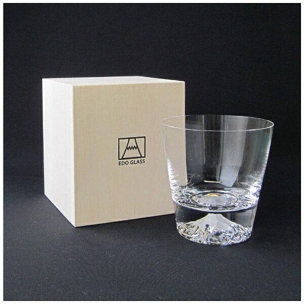 【送料無料】 田島硝子 富士山グラス ロックグラス TG15-015-R[TG15015R]