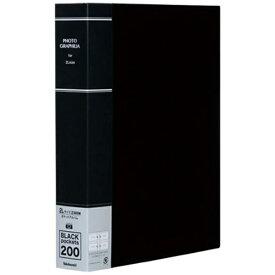 ナカバヤシ Nakabayashi ポケットアルバム フォトグラフィリア 2L判2段200枚収納 (ブラック) PH2L-1020-D[PH2L1020D]