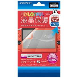 ゲームテック GAMETECH PS Vita用画面保護カラーシートV2 オレンジ【PSV(PCH-2000)】