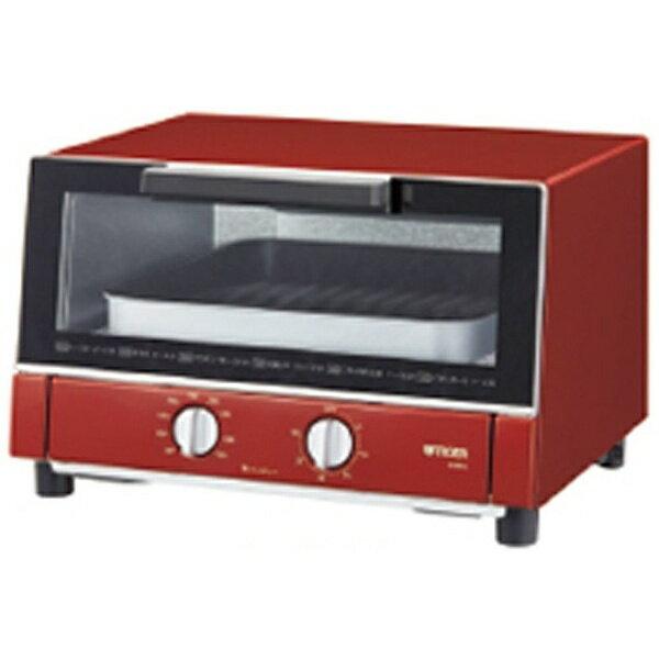 【送料無料】 タイガー オーブントースター やきたて(1300W) KAM-G130-R レッド[KAMG130R] [一人暮らし 単身 単身赴任 新生活 家電]