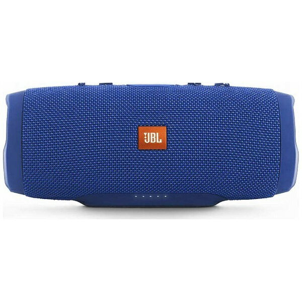 JBL JBL CHARGE 3 BLUE JN ブルートゥース スピーカー ブルー [Bluetooth対応 /防水][JBLCHARGE3BLUEJN]