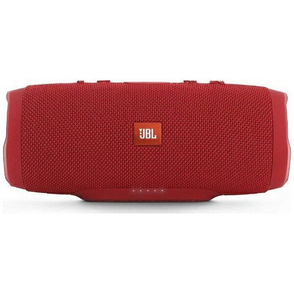 JBL JBL CHARGE 3 RED JN ブルートゥース スピーカー レッド [Bluetooth対応 /防水][JBLCHARGE3REDJN]