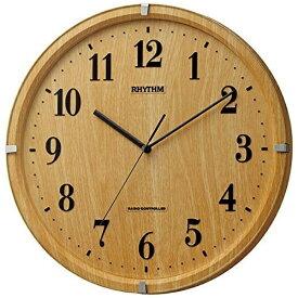 リズム時計 RHYTHM 掛け時計 【ライブリーアリス】 8MY501SR07 [電波自動受信機能有]