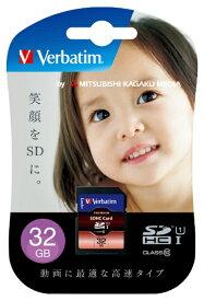 Verbatim バーベイタム SDHCカード Verbatim(バーベイタム) SDHC32GJVB3 [32GB /Class10][SDHC32GJVB3]