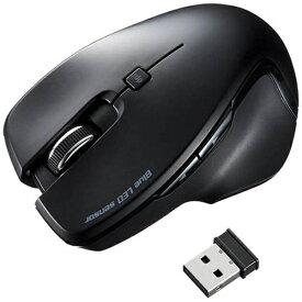 サンワサプライ SANWA SUPPLY MA-SW1BK マウス ブラック [BlueLED /5ボタン /USB /無線(ワイヤレス)][MASW1BK]