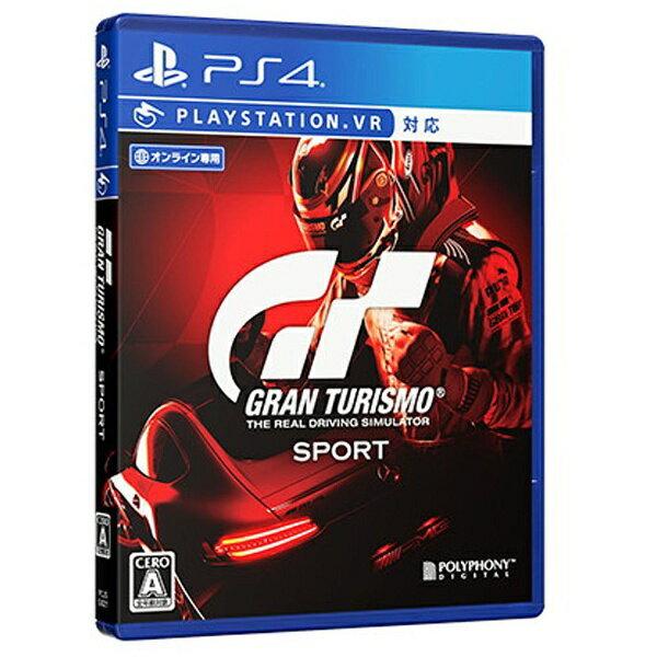 【送料無料】 ソニーインタラクティブエンタテインメント グランツーリスモSPORT 通常版【PS4ゲームソフト】