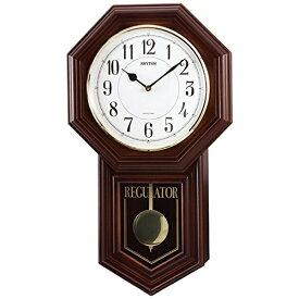リズム時計 RHYTHM からくり時計 ベングラーR 茶色半艶仕上 4MJA03RH06