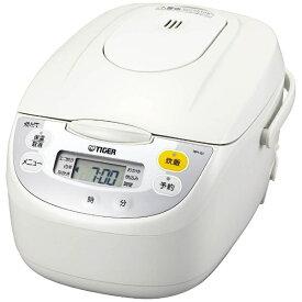 タイガー TIGER JBH-G101 炊飯器 炊きたて ホワイト [5.5合 /マイコン][JBHG101W 5合 炊飯ジャー 単身 一人暮らし 新生活]