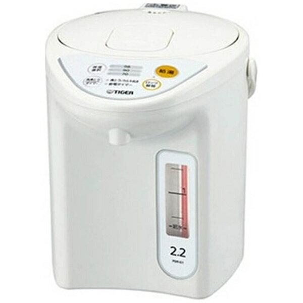 【送料無料】 タイガー マイコン電動ポット (2.2L) PDR-G221-W ホワイト[PDRG221W]