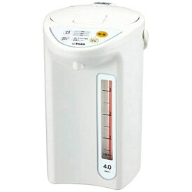 タイガー TIGER PDR-G401 電気ポット ホワイト [4.0L][マイコン 電動ポット PDRG401W]