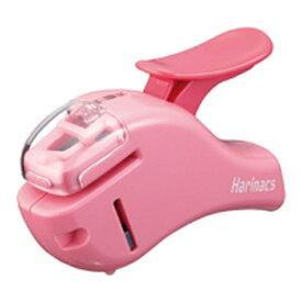 コクヨ KOKUYO [ステープラー] 針なしステープラー ハリナックス (コンパクトアルファ) ピンク SLN-MSH305P