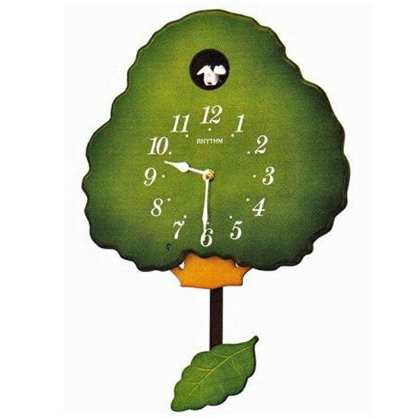 リズム時計 RHYTHM 掛け時計 「グレイスカッコー413R」 4MJ413RH05[4MJ413RH05]