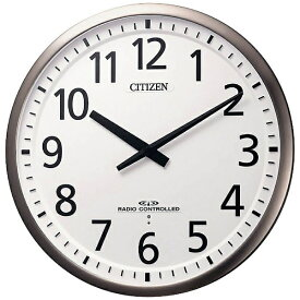 リズム時計 RHYTHM 掛け時計 シルバー 4MY839-019 [電波自動受信機能有]