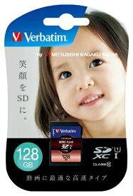 Verbatim バーベイタム SDXCカード Verbatim(バーベイタム) SDXC128GJVB3 [128GB /Class10][SDXC128GJVB3]