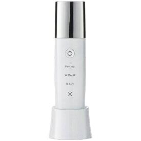 CosBeauty コスビューティ CB-018-W01 美顔器 アクリアルピーリングプロ パールホワイト [超音波美顔器 /国内・海外対応][CB018W01]