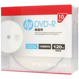 HP ヒューレット・パッカード DR120CHPW10A 録画用DVD-R [10枚 /4.7GB /インクジェットプリンター対応]