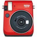 【送料無料】 フジフイルム インスタントカメラ instax mini 70 『チェキ』 レッド