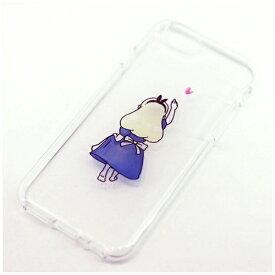 ROA ロア iPhone 6s/6用 ソフトクリアケース ファンタジー 童話 アリス Dparks DS7365i6S