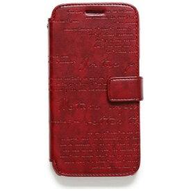 ROA ロア Galaxy S6 SC-05G用 手帳型ケースLettering Diary ワイン Zenus Z5976GS6