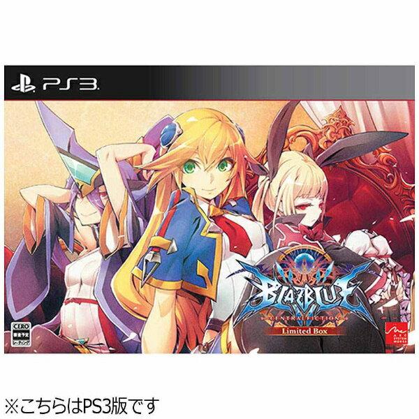 【送料無料】 アークシステムワークス BLAZBLUE CENTRALFICTION Limited Box【PS3ゲームソフト】
