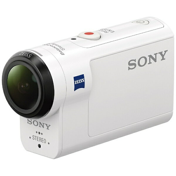 ソニー SONY HDR-AS300 アクションカメラ [フルハイビジョン対応 /防水+防塵+耐衝撃 /光学式(空間光学方式、アクティブモード搭載)][HDRAS300]