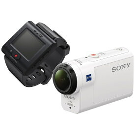 ソニー SONY HDR-AS300R アクションカメラ ライブビューリモコンキット [フルハイビジョン対応 /防水+防塵+耐衝撃 /光学式(空間光学方式、アクティブモード搭載)][HDRAS300R]