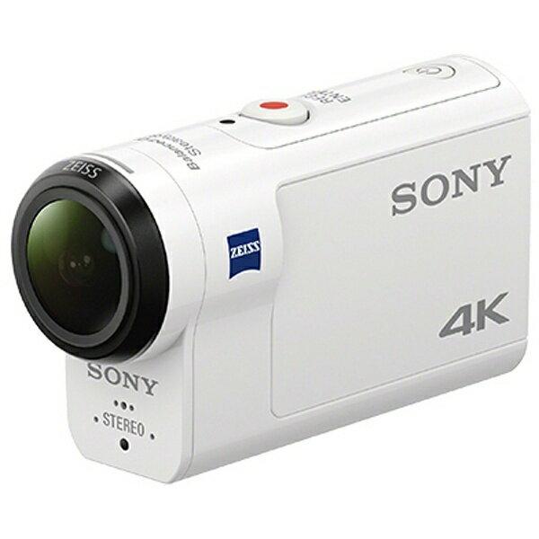 【送料無料】 ソニー SONY メモリースティックマイクロ/マイクロSD対応4Kアクションカム FDR-X3000[FDRX3000]