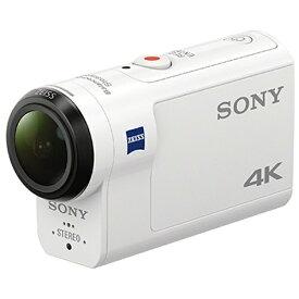 ソニー SONY FDR-X3000 アクションカメラ [4K対応 /防水+防塵+耐衝撃 /光学式(空間光学方式、アクティブモード搭載)][FDRX3000]