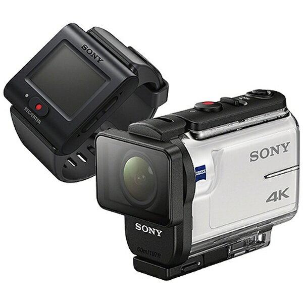 【送料無料】 ソニー SONY メモリースティックマイクロ/マイクロSD対応4Kアクションカム(ライブビューリモコンキット) FDR-X3000R[FDRX3000R]