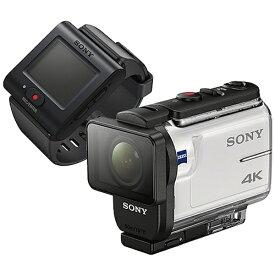 ソニー SONY FDR-X3000R アクションカメラ ライブビューリモコンキット [4K対応 /防水+防塵+耐衝撃 /光学式(空間光学方式、アクティブモード搭載)][FDRX3000R]