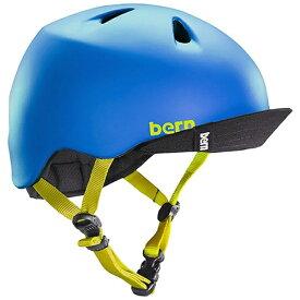 BERN バーン 子供用ヘルメット NINO ALL SEASON (Matte Blue/ XS-Sサイズ:48〜51.5cm) BE-VJBMBLV-11