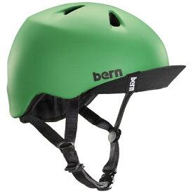 BERN バーン 子供用ヘルメット NINO ALL SEASON (Matte Kelly Green/ S-Mサイズ:51.5〜54.5cm) BE-VJBMGV-12