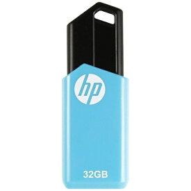 HP エイチピー HPFD150W-32 USBメモリ HP USB Flash Drives ブルー [32GB /USB2.0 /USB TypeA /ノック式][HPFD150W32]
