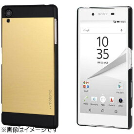 UI ユーアイ Xperia Z5用 INO METAL CASE ゴールドブラック INOXPZ5GDBK