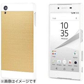 UI ユーアイ Xperia Z5用 INO METAL CASE ゴールドホワイト INOXPZ5GDWH