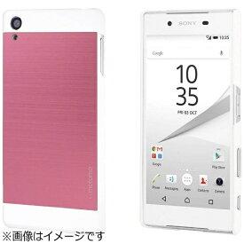 UI ユーアイ Xperia Z5用 INO METAL CASE ピンク INOXPZ5PK