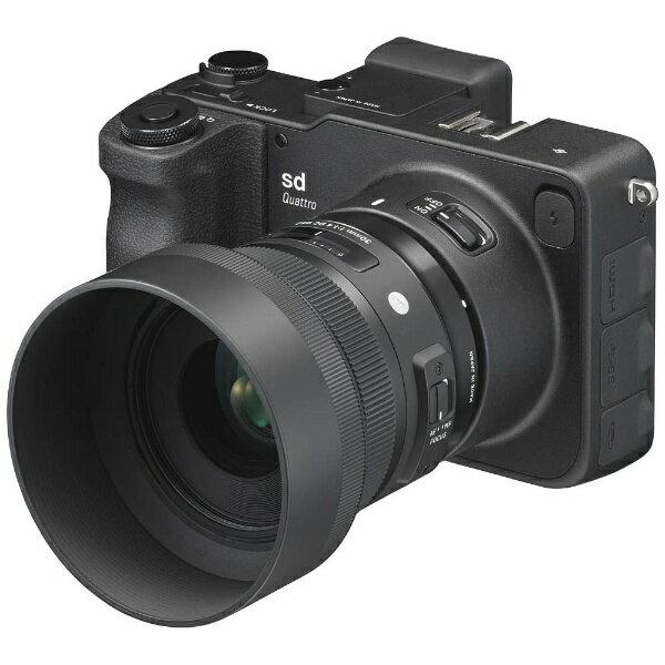 【送料無料】 シグマ sd Quattro【30mm F1.4 DC HSM Art レンズキット/ミラーレス一眼カメラ】[sdQuattro30mmF14]