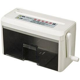 サンワサプライ SANWA SUPPLY PSD-MC2223 ハンドシュレッダー [クロスカット /A4サイズ][PSDMC2223]