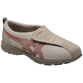 アシックス asics 【ケアシューズ】ライフウォーカー307(W)(23.5cm/ウォームグレー×グレイッシュピンク)《両足》