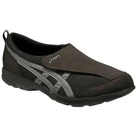 アシックス asics 【ケアシューズ】ライフウォーカー101(25.5cm/ブラック×チャコールグレー)《両足》