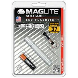 MAGLITE マグライト SJ3A106 ペンライト マグライト ソリテールLED Silver [LED /単4乾電池×1]