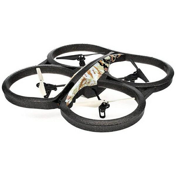 【送料無料】 PARROT 【ドローン】AR.Drone 2.0 Elite Edition(AR.ドローン 2.0 エリートエディション/サンド) HDカメラ付 クワッドコプター PF721930T[ARDrone2.0EliteEdition]