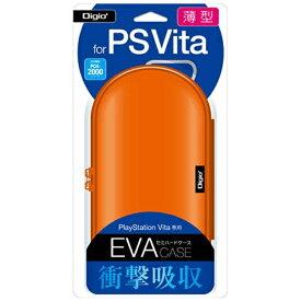 ナカバヤシ Nakabayashi PlayStation Vita用薄型セミハードケース オレンジ【PSV(PCH-1000/2000)】