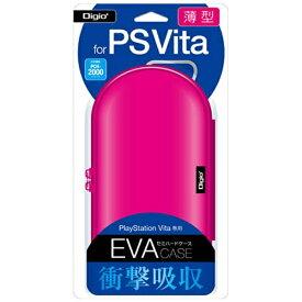 ナカバヤシ Nakabayashi PlayStation Vita用薄型セミハードケース ピンク【PSV(PCH-1000/2000)】