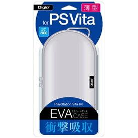 ナカバヤシ Nakabayashi PlayStation Vita用薄型セミハードケース ホワイト【PSV(PCH-1000/2000)】