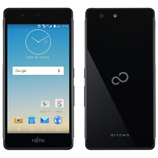 【送料無料】 富士通 ARROWS M03 ブラック 「FARM06102」 Android6.0・5.0型・メモリ/ストレージ:2GB/16GB nanoSIMx1 SIMフリースマートフォン